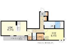 (仮称)豊中市シャーメゾン清風荘2丁目PJ 間取り